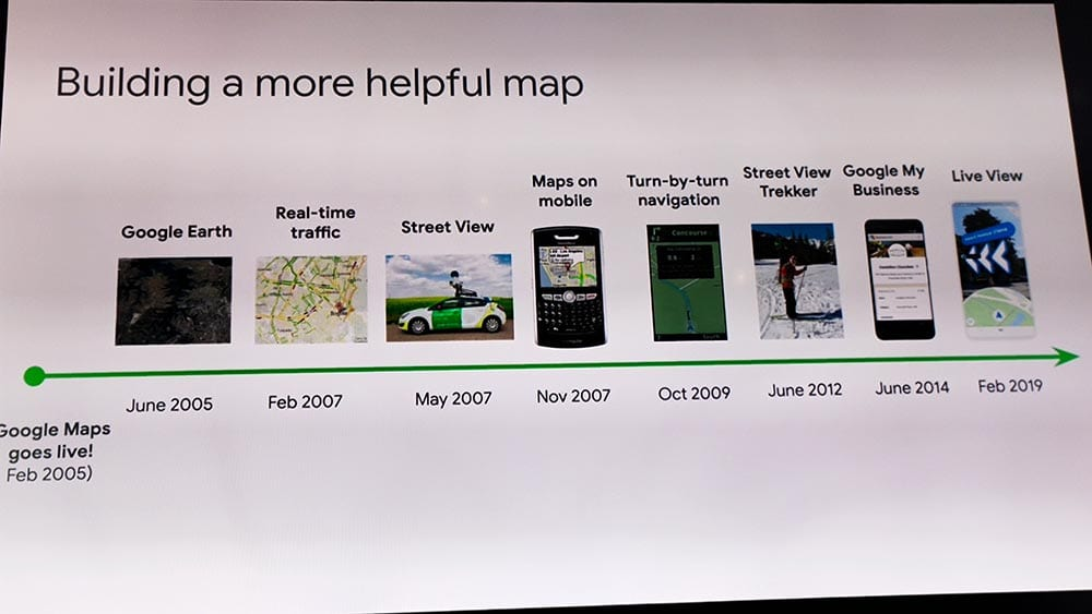 Google maps ฉลองครบรอบ 15 ปี เปลี่ยนโลโก้ เพิ่มฟีเจอร์ใหม่